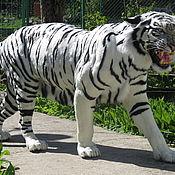 Для дома и интерьера ручной работы. Ярмарка Мастеров - ручная работа Муляж белого тигра. Handmade.