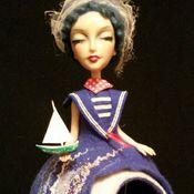 """Куклы и игрушки ручной работы. Ярмарка Мастеров - ручная работа Авторская кукла  """"АкваМарина"""". Handmade."""