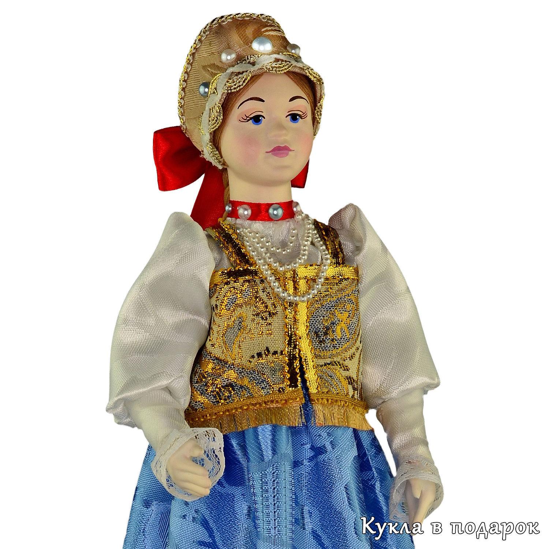 Народная кукла в нижегородском национальном костюме ...