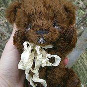 Куклы и игрушки ручной работы. Ярмарка Мастеров - ручная работа Шоколадкин- мишка тедди ручной работы. Handmade.