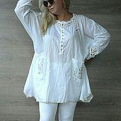 Одежда handmade. Livemaster - original item Designer tunic. Free style.. Handmade.