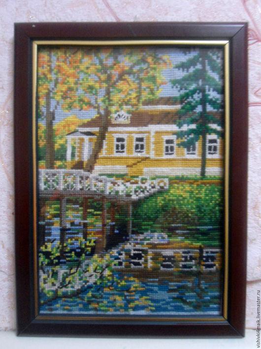 Пейзаж ручной работы. Ярмарка Мастеров - ручная работа. Купить картина. Handmade. Комбинированный, для дома и интерьера, украшение, пейзаж