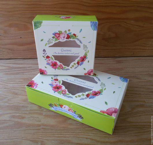 Коробочки 2-х размеров. 13,5*13,5*5 см  22*13,5*5 см