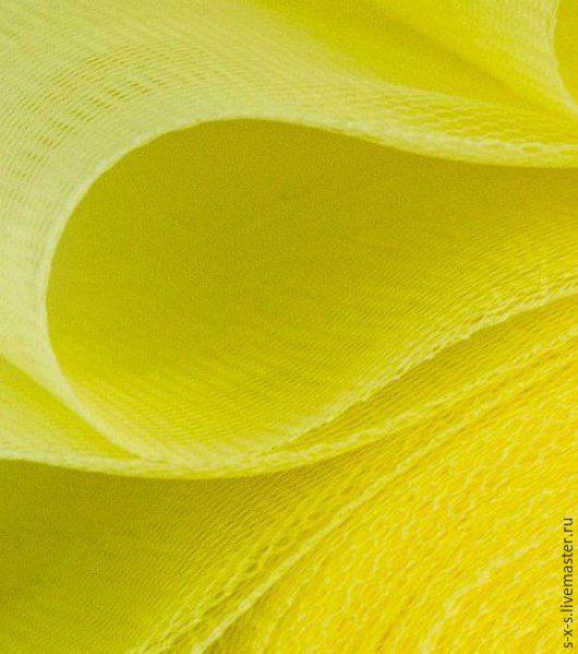 Жесткая сетка, цвет желтый