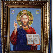 Картины и панно handmade. Livemaster - original item The Icon Of The Lord Almighty. Handmade.