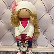 Куклы и пупсы ручной работы. Ярмарка Мастеров - ручная работа Кукла с будильником. Handmade.