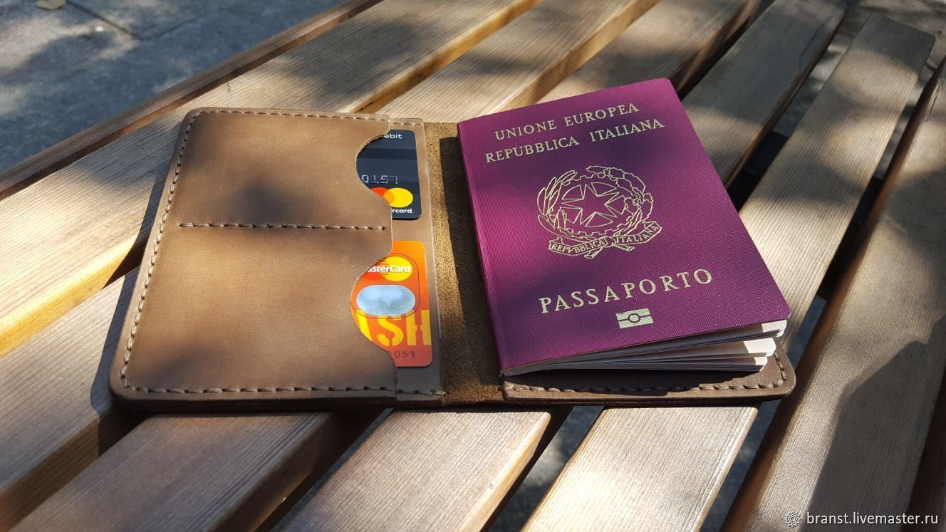 Documentsize genuine leather (deckholder) - Yauza, Wallets, Moscow,  Фото №1