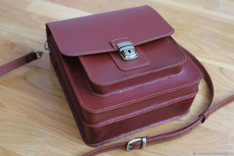 d561030903e8 Павел Александрович ( Мужские сумки ручной работы. Заказать Сумка мужская  кожаная из твердой кожи барсетка.