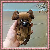 Куклы и игрушки ручной работы. Ярмарка Мастеров - ручная работа Пёс Барбос. Handmade.