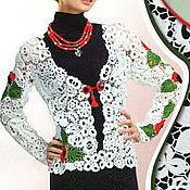 """Одежда ручной работы. Ярмарка Мастеров - ручная работа Жакет """"Маки"""". Handmade."""