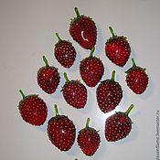 Сувениры и подарки ручной работы. Ярмарка Мастеров - ручная работа Коллекция ягодных магнитов. Handmade.