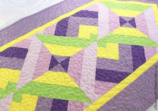 Текстиль, ковры ручной работы. Ярмарка Мастеров - ручная работа. Купить Дорожка лоскутная на стол, пэчворк. Handmade. Лоскутная техника