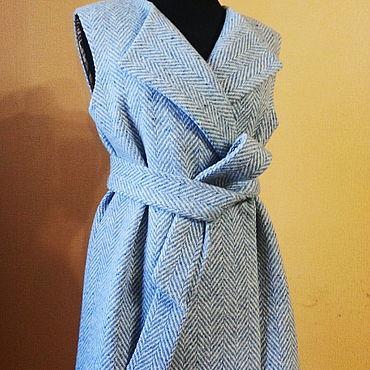 Одежда ручной работы. Ярмарка Мастеров - ручная работа Голубая елочка. Handmade.