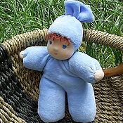 Куклы и игрушки ручной работы. Ярмарка Мастеров - ручная работа Крупяной малыш. Handmade.