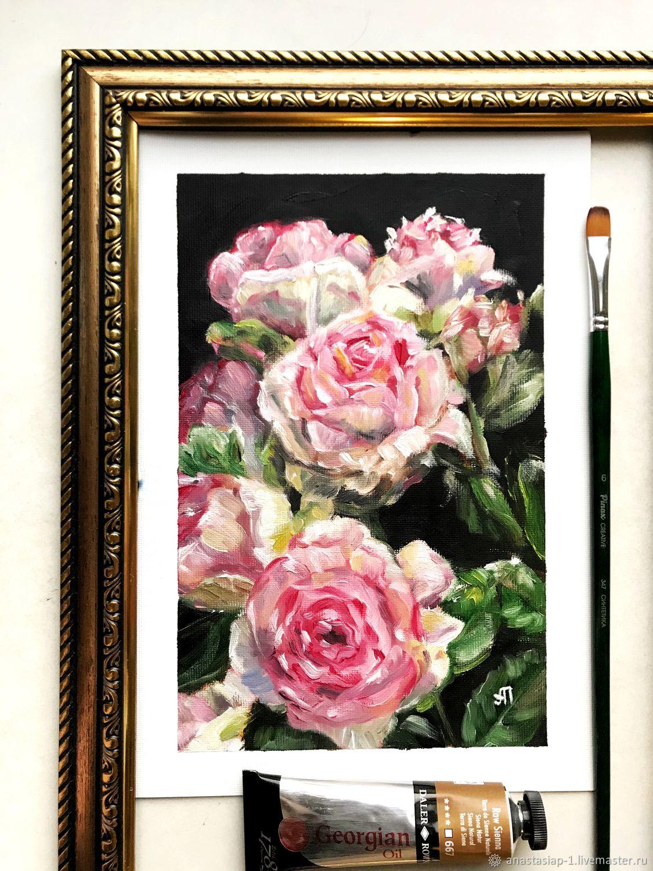 Сияние розы, Картины, Москва,  Фото №1