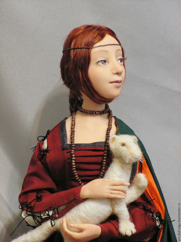 """Коллекционная кукла """"Дама с горностаем"""", Куклы, Москва, Фото №1"""