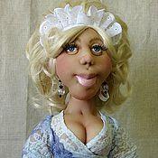 Куклы и игрушки ручной работы. Ярмарка Мастеров - ручная работа Марго - ваша официантка. Handmade.
