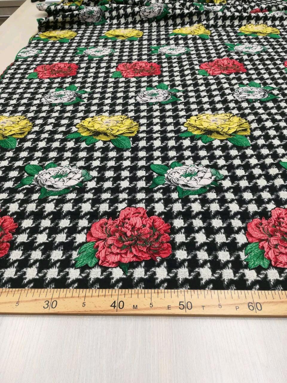 40% Жаккард D&G К-059 Итальянская ткань, Ткани, Новосибирск,  Фото №1