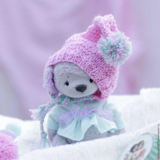 Куклы и игрушки ручной работы. Ярмарка Мастеров - ручная работа. Купить Щенок тедди Кетти. Handmade. Серый, щенок, подарок