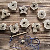 Куклы и игрушки ручной работы. Ярмарка Мастеров - ручная работа Развивающая игрушка - шнуровка. Handmade.