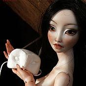 Куклы и игрушки ручной работы. Ярмарка Мастеров - ручная работа Фарфоровая шарнирная кукла Нэша. Handmade.