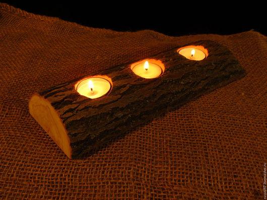 Подсвечники ручной работы. Ярмарка Мастеров - ручная работа. Купить Подсвечник  Ивовый на 3 свечи. Handmade. Подсвечник из дерева, аромотерапия