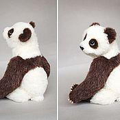 Куклы и игрушки ручной работы. Ярмарка Мастеров - ручная работа Реалистичная панда Юки. Handmade.