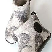 Обувь ручной работы handmade. Livemaster - original item Chuni felted mens. Handmade.