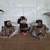 Сувениры и подарки handmade. Livemaster - original item Gifts on February 23: Lucky little houses.. Handmade.