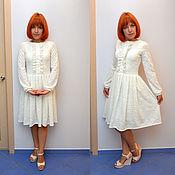 Одежда ручной работы. Ярмарка Мастеров - ручная работа Белое платье. Handmade.