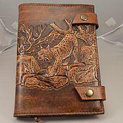 Канцелярские товары handmade. Livemaster - original item Calendar of leather