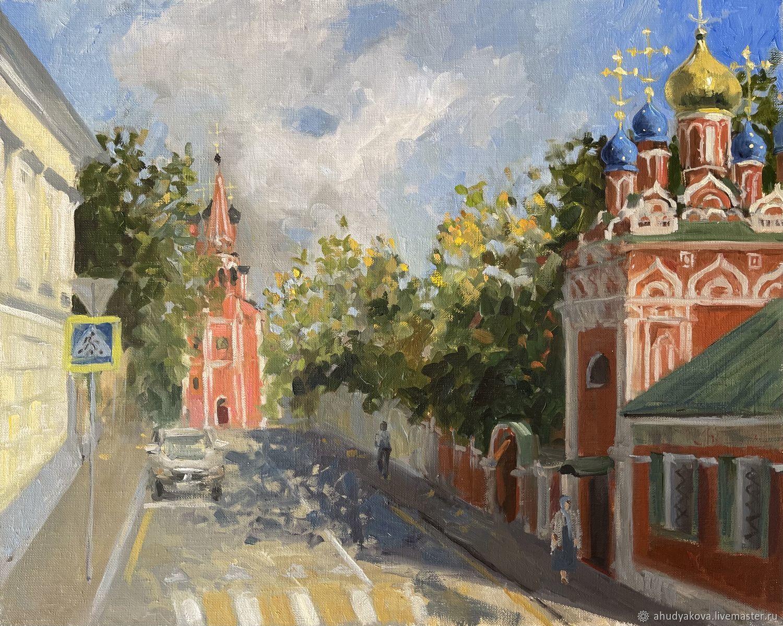 Таганка. Осенний этюд, Картины, Москва,  Фото №1