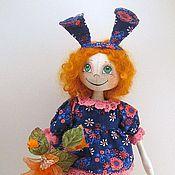 Куклы и игрушки ручной работы. Ярмарка Мастеров - ручная работа Рыжая зайка :). Handmade.