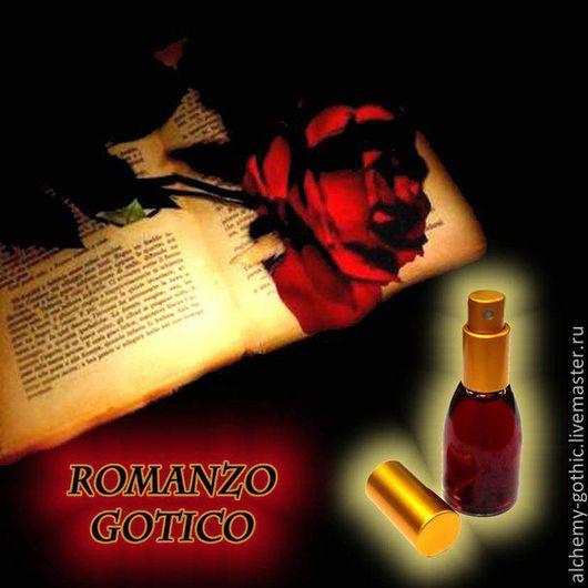 """Натуральные духи ручной работы. Ярмарка Мастеров - ручная работа. Купить """" Romanzo Gotico """"  авторские натуральные духи. Handmade."""