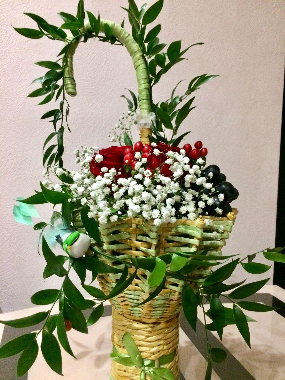 Подарочный букет-зонт, цветы недорогой интернет магазин одежды отзывы