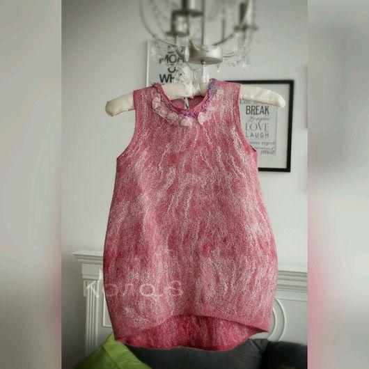 Одежда для девочек, ручной работы. Ярмарка Мастеров - ручная работа. Купить Валяное платье Сон трава. Handmade. Валяное платье