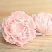 Работы для детей, ручной работы. Ярмарка Мастеров - ручная работа комплект резинок для волос, нежно-розовый. Handmade.