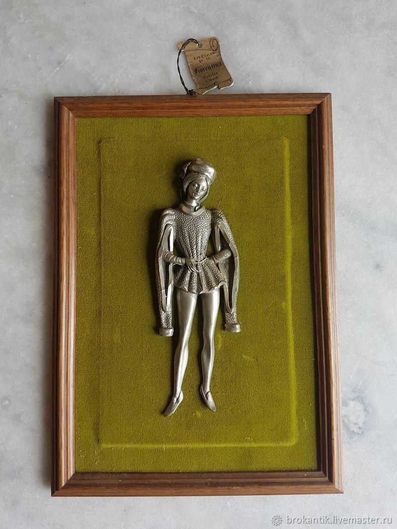 Винтаж: Панно из олова, Винтажные предметы интерьера, Париж, Фото №1