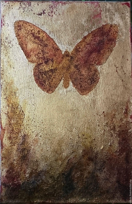 Бабочка картина подарок женщине девушке, Картины, Санкт-Петербург, Фото №1
