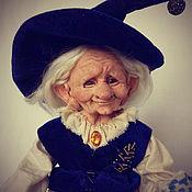 Куклы и игрушки handmade. Livemaster - original item Granny the herbalist. Option 2. Handmade.