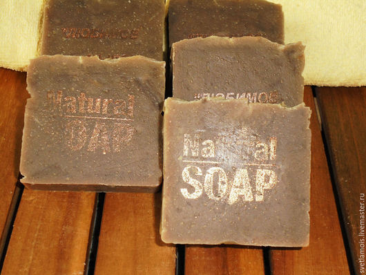 Мыло ручной работы. Ярмарка Мастеров - ручная работа. Купить мыло натуральное с нуля Берестовое Дегтярное. Handmade. Мыло натуральное