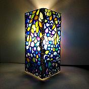 Для дома и интерьера handmade. Livemaster - original item Table decorative lamp Wisteria and grapes. Handmade.