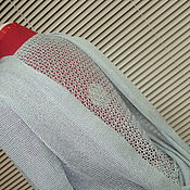 Одежда ручной работы. Ярмарка Мастеров - ручная работа креативная блузка для самых смелых. Handmade.