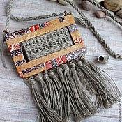 Украшения handmade. Livemaster - original item Pendant from polymer clay Autumn BOHO. Ethnic pendant. Handmade.