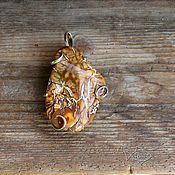Украшения ручной работы. Ярмарка Мастеров - ручная работа Кулон из уральского опала. Handmade.