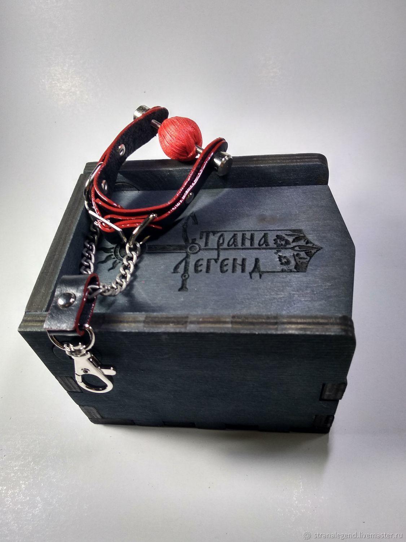 Подвес- брелок Кляп Red Devil кожаный, Брелок, Симферополь,  Фото №1