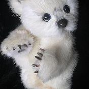 Куклы и игрушки ручной работы. Ярмарка Мастеров - ручная работа PolarBiar из меха белой норки. Handmade.