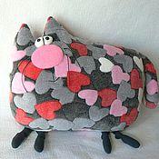 """Куклы и игрушки ручной работы. Ярмарка Мастеров - ручная работа Кот """"Любовь"""". Handmade."""