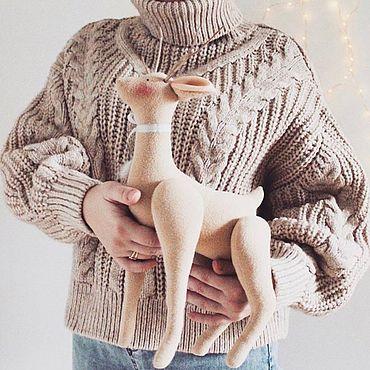 Куклы и игрушки ручной работы. Ярмарка Мастеров - ручная работа Олень в стиле тильда. Handmade.
