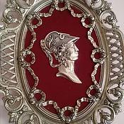 Винтаж handmade. Livemaster - original item A stunning pair of antique bronze plates. Handmade.